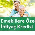 Emekli Maaşı Alanların Kredisi Hazır
