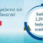 Denizbank % 1,19 Oranlı ile Kredi Kampanyası