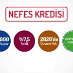 2021 Ödemeli Nefes Kredisi Başvuruları Başladı