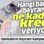 Bayram Kredisi Veren Bankalar – 2020
