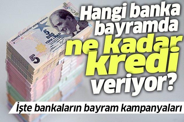 Bayram Kredisi Veren Bankalar - 2020