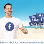 Deniz Bank Özel Oranlı Facebook Kredisi 2017