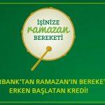 Faizsiz ve Komisyonsuz Ramazan Kredisi